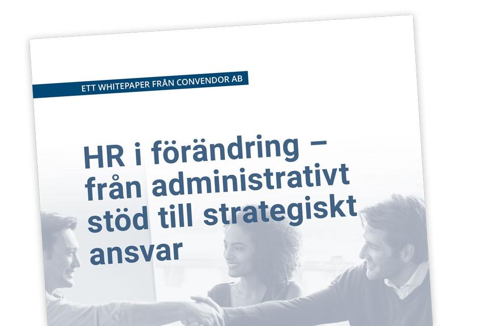 """Whitepaper """"HR i förändring"""""""